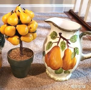 ♡ Pear Pitcher & Potted Pears Bundle ♡